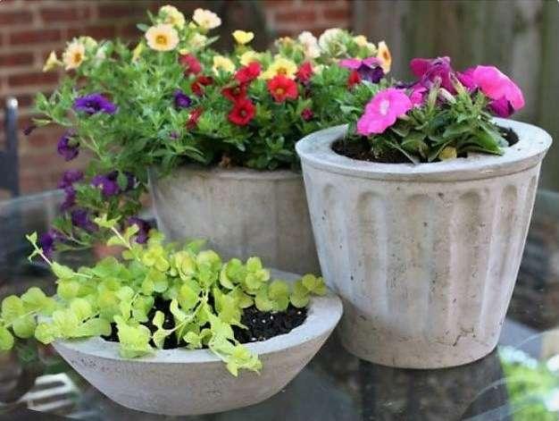 поделки из цемента своими руками для сада, дачи