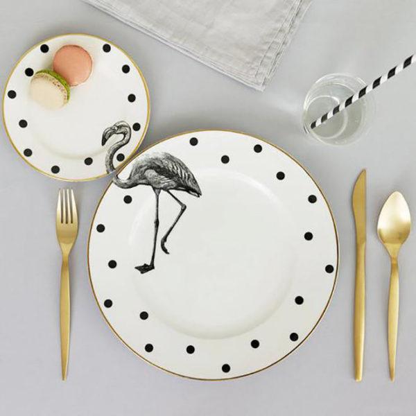 красивая посуда к 8 марта