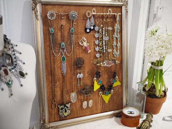 Подставка для украшений или шкатулка к 8 Марта