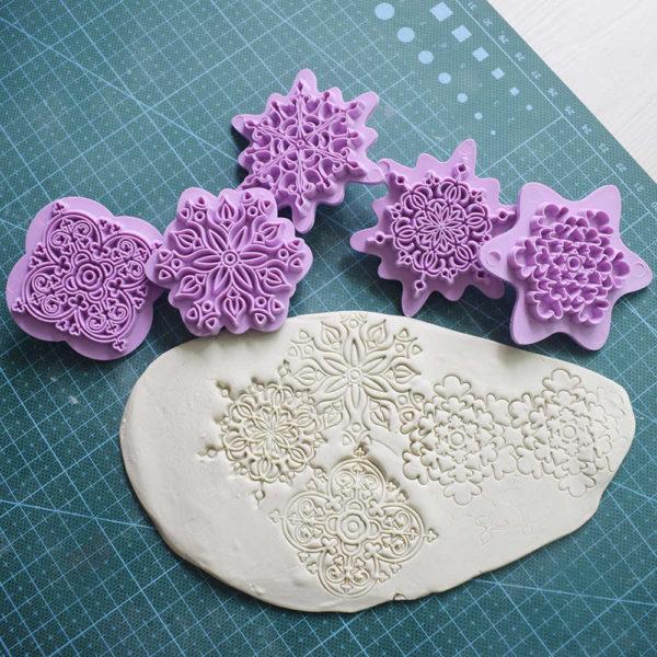 штампы для теснения мандалы керамической