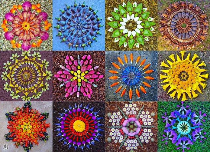 цветочные мандалы1