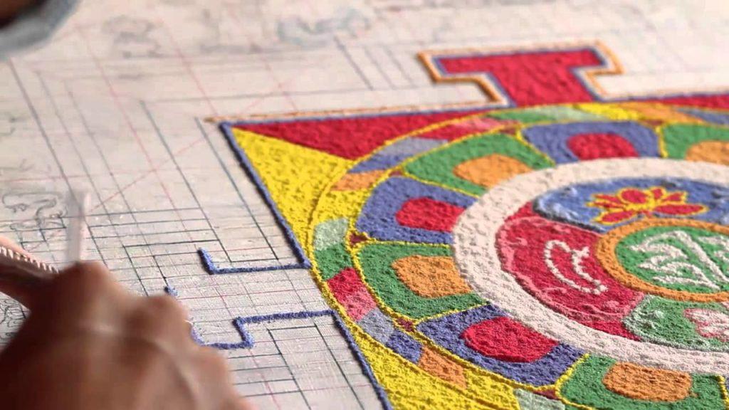 Тибетские песочные мандалы