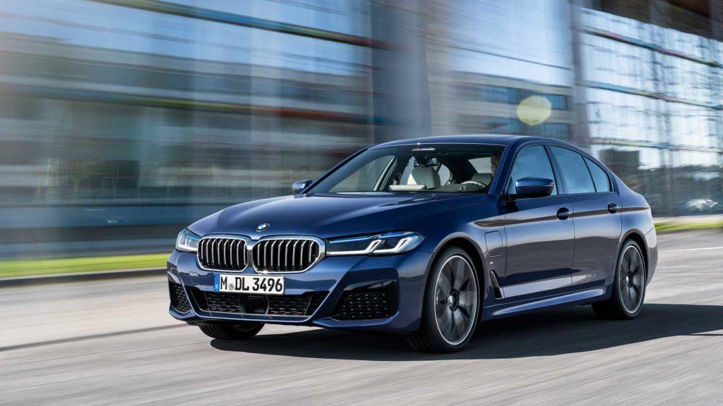 внешний вид BMW 5 серии