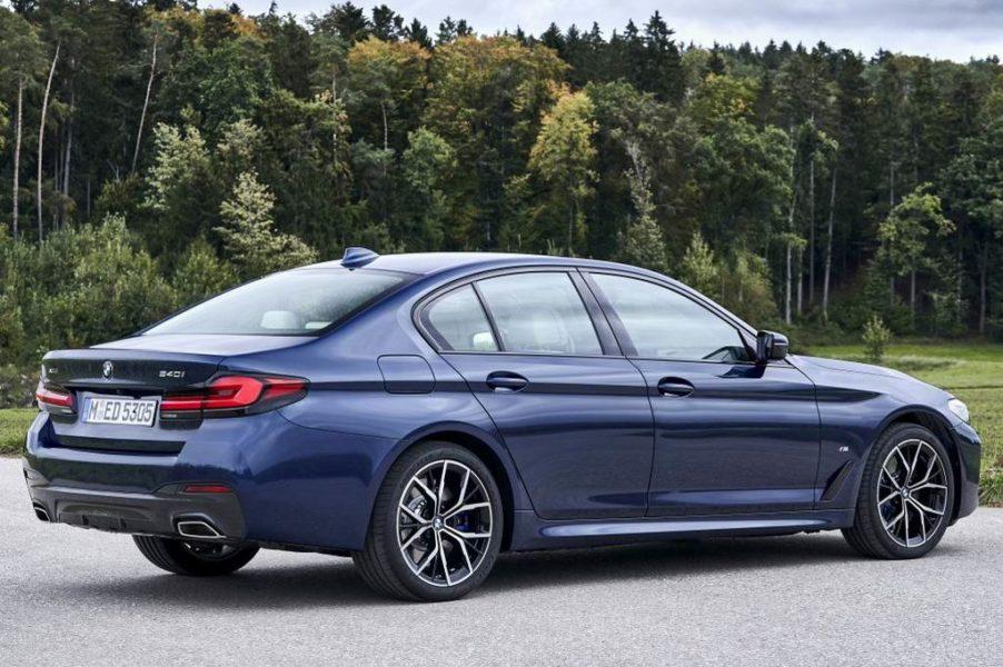 Экстерьер BMW 5 серии
