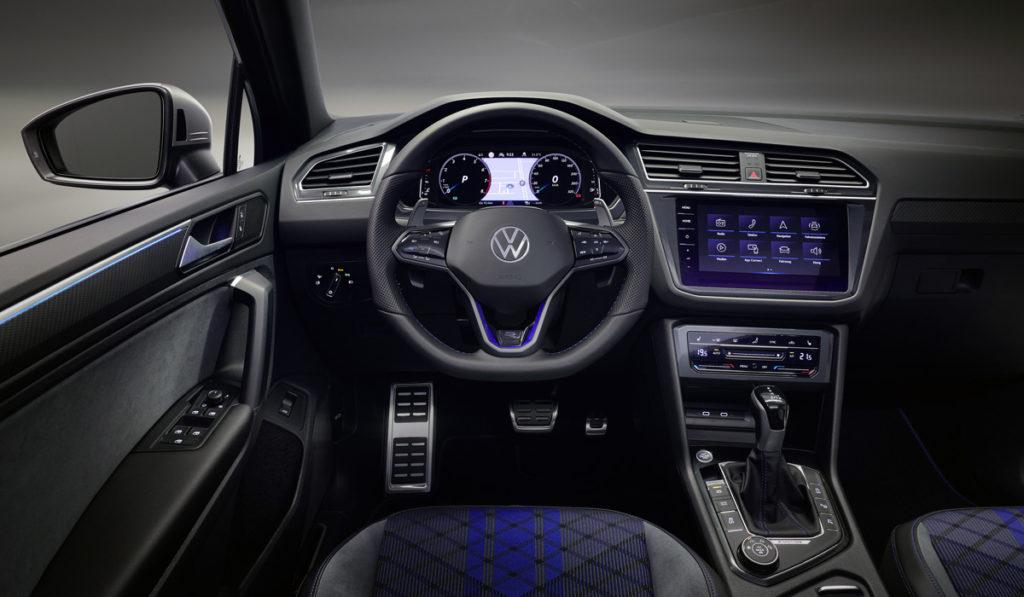 салон Volkswagen Tiguan R